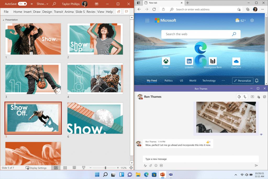 Windows 11 OS Virtual desktop